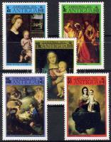 1973 Karácsony, festmények sor Mi 305-309