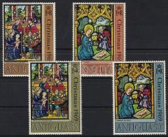 1969 Karácsony sor Mi 213-216