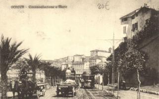 Genova, Circonvallazione e Mare / road, sea