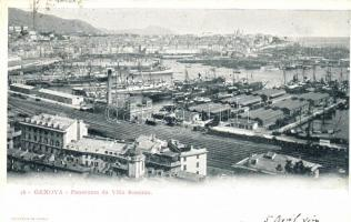 Genova, Villa Rosazza, port