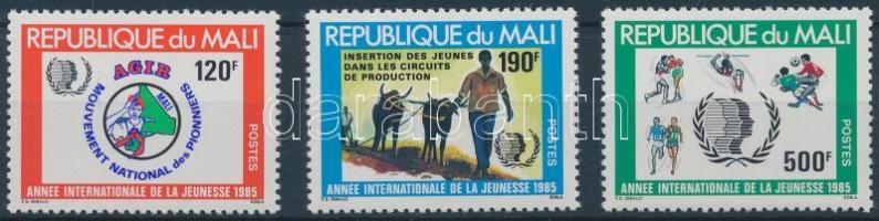 1985 Nemzetközi ifjúsági év sor Mi 1050-1052
