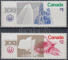 1976 Nyári olimpia (XI) sor Mi 624-625