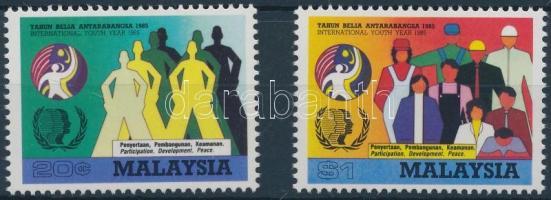 1985 Nemzetközi ifjúsági év sor Mi 302-303