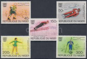 1976 Téli olimpia sor Mi 506-510