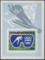 1975 Téli olimpia vágott blokk Mi 39