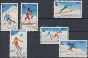1979 Téli olimpia sor Mi 877-882