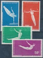 1970 Művészi torna VB Ljubljanában sor Mi 263-266