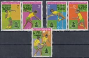 Central African sports games, Luanda set with 2 pairs, Közép-afrikai sport játékok, Luanda sor 2 párral