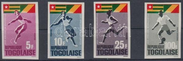 1965 Sport Játékok vágott sor 4 értéke Mi 467-471 (469 hiányzik)