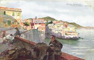 Genova, Boccadasse s: G. Palanti