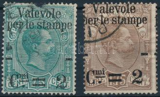 1890 Mi 64 + 66