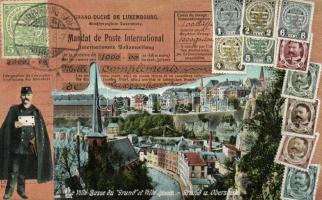 Luxembourg, La Ville Basse du Grund et Ville Haute; mail order