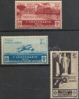 1934 Légiposta és légiposta-expressz bélyegek Mi 510-511 + 513