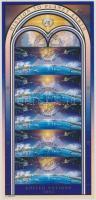 International Space Station minisheet, Nemzetközi űrállomás kisív