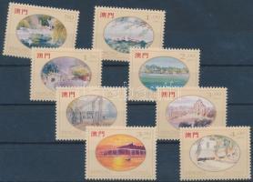 1995 Lio Man Cheong festményei sor Mi 786-793