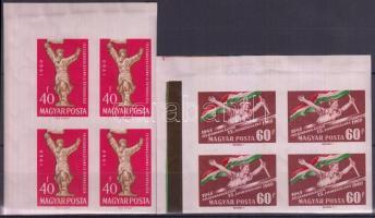 1966 Olimpiák sor fekete felülnyomással Mi 68-76