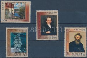 2006-2007 Apollinarij Wasnezow és Iwan Schischkin festők születésének évfordulói 2 sor Mi 1366-1367 + 1392-1393