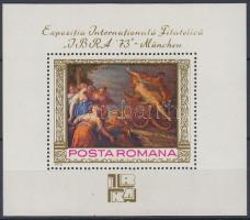 IBRA Inernational Stamp Exhibition block, IBRA nemzetközi bélyegkiállítás blokk