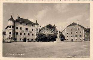 Tamsweg in Lungau town hall, brewery, Lüftenegger's hotel, Tamsweg in Lungau Városháza, Lüftenegger fogadója, Tamsweg in Lungau Rathaus, Staudingerbräu, Hans Lüftenegger's Gasthaus