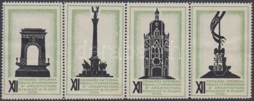 1930 Építészeti kongresszus Budapesten 4-es csík