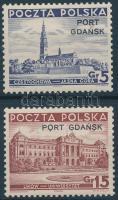 Gdansk 1937 Mi 32-33