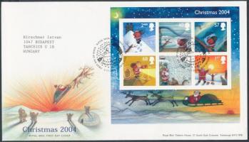2004 Karácsony blokk Mi 21 FDC