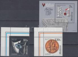 1998 Europa CEPT nemzeti ünnepek és ünnepnapok ívsarki sor Mi 275-276 + blokk Mi 16