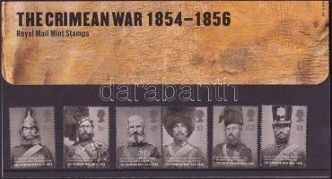 2004 A krími háború 150 évforduója sor Mi 2246-2251 díszcsomagolásban