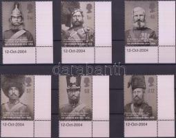 2004 A krími háború 150 évforduója ívsarki sor Mi 2246-2251