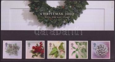 2002 Karácsony sor Mi 2058-2062 dícsomagolásban