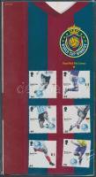 2006 Labdarúgó világbajnokság sor Mi 2408-2413 díszcsomagolásban