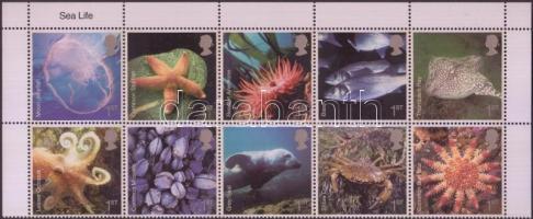 2007 Tengeri állatok ívsarki tízestömb Mi 2480-2489