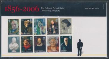 2006 Nemzeti Portré Galéria tízestömb Mi 2420-2429 dícsomagolásban
