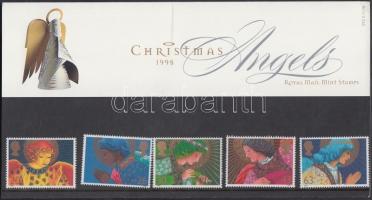 1998 Karácsony sor Mi 1772-1776 díszcsomagolásban