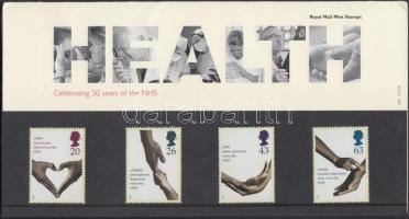 1998 50 éves a Nemzetközi Egészségügyi Szolgálat sor Mi 1754-1757 díszcsomagolásban
