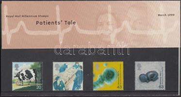 1999 Millennium (III): Előrelépés az egészségügyben sor Mi 1789-1792 díszcsomagolásban