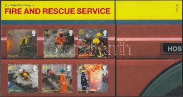 2009 Tűzoltó és mentőszolgálat sor Mi 2791-2796 díszcsomagolásban