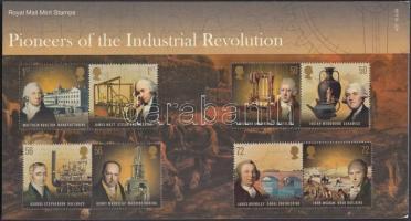 2009 Az ipari forradalom úttörői 4 klf pár Mi 2735-2742 díszcsomagolásban