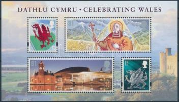 Wales 2009 Nemzeti ünnep blokk Mi 2