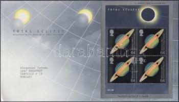 1999 Kutatási eredmények blokk Mi 7 FDC-n