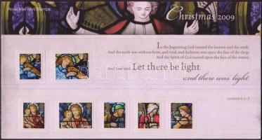 2009 Karácsony öntapadós bélyegek sor Mi 2832-2838 díszcsomagolásban