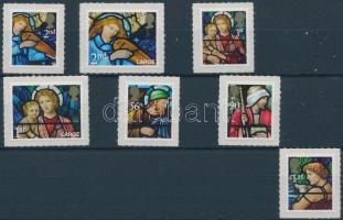 2009 Karácsony öntapadós bélyegek sor Mi 2832-2838