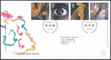 2000 Hang és kép sor Mi 1901-1904 FDC-n
