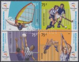 Sydney Summer Olympics minisheet, Nyári Olimpia, Sydney kisív