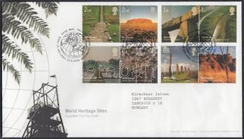 2005 UNESCO: Természet sor párokban Mi 2300-2307 FDC-n