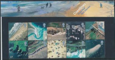 2002 Tengerparti tájak tizestömb Mi 1993-2002 díszcsomagolásban