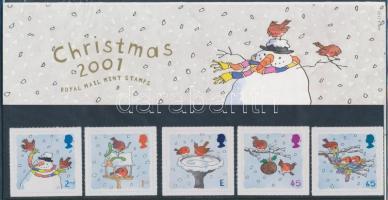 2001 Karácsony ívszéli sor Mi 1966-1970 díszcsomagolásban