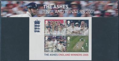 2005 Krikett blokk Mi 27 díszcsomagolásban