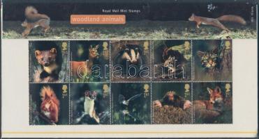 2004 Erdei állatok tizestömb Mi 2236-2245 díszcsomagolásban