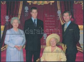 2000 Erzsébet anyakirálynő 100 éves blokk Mi 9